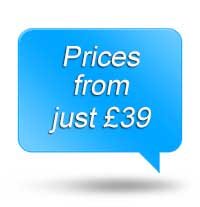 Prices from just £39