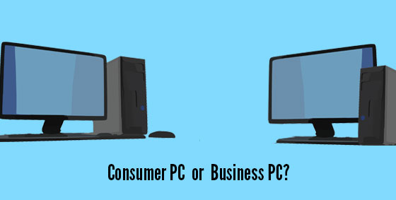 consumer or business grade computers